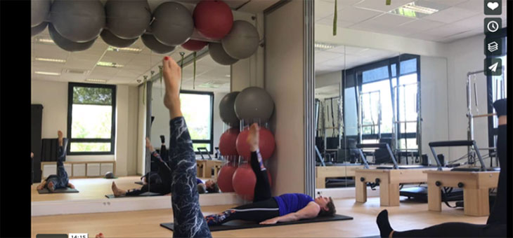 Pilates en vacances – Mat session